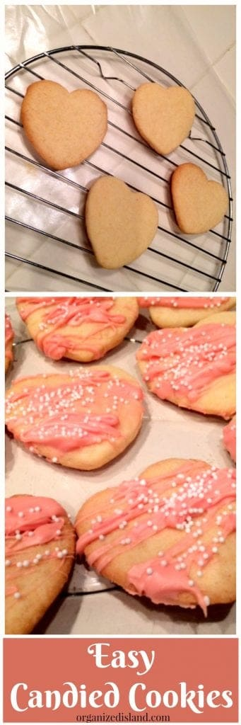 Need a really easy and quick way to spruce up your cookies? Try these candied cookies.