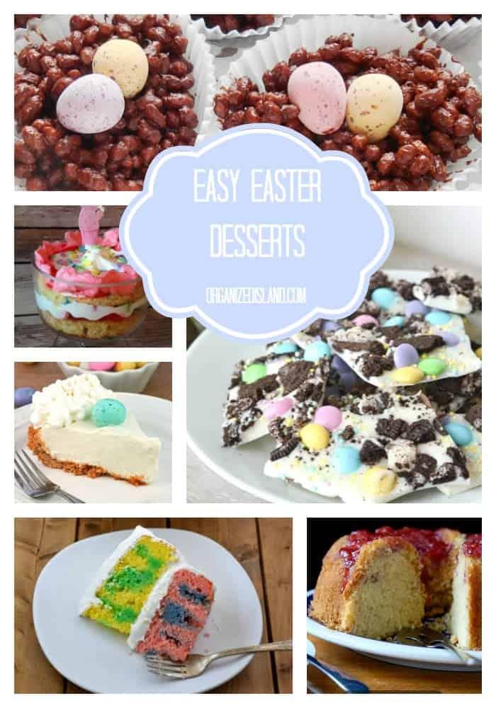 Easy Easter Desserts - Organized Island