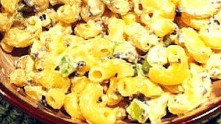 Easy Macaroni Salad recipe - like grandma's but better!