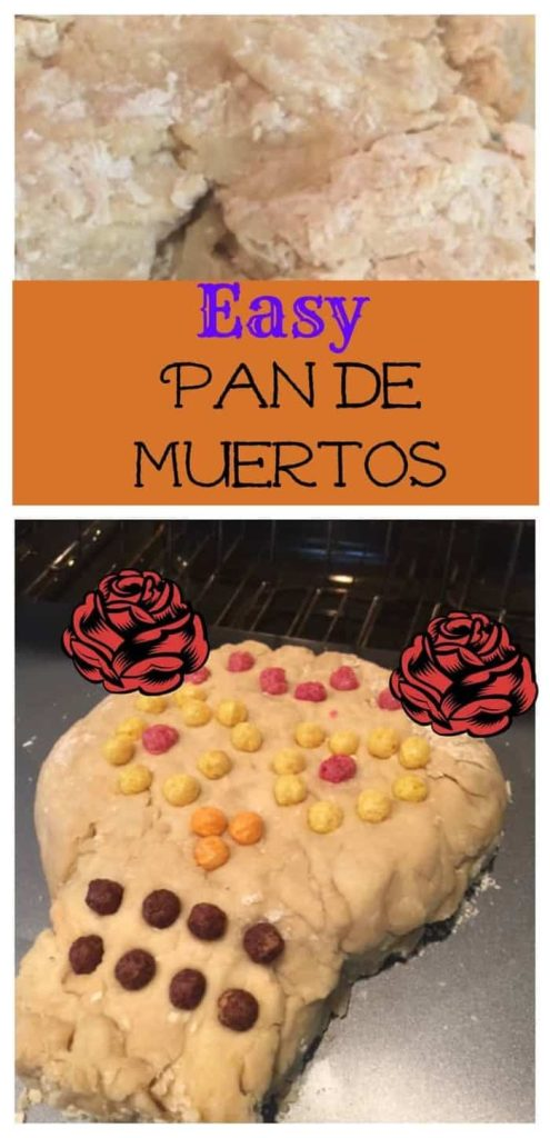 Celebrating your loved ones on Day of the Dead? This Pan de Muertos recipe is easy and incorporates cereal too!