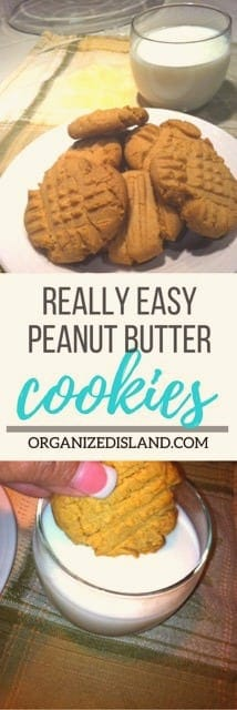 These easy peanut butter cookie recipes might be the easiest cookies you will ever make!