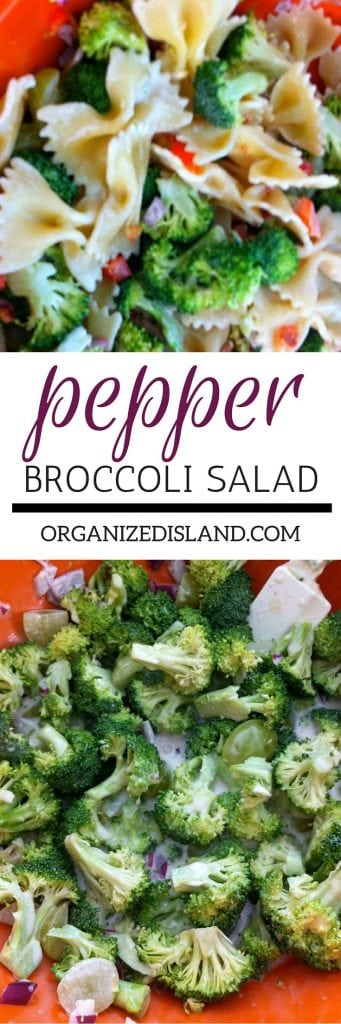 This tasty bell pepper, broccoli and bacon salad is a favorite! I am always asked for the recipe. Great for picnics and BBQ's too!