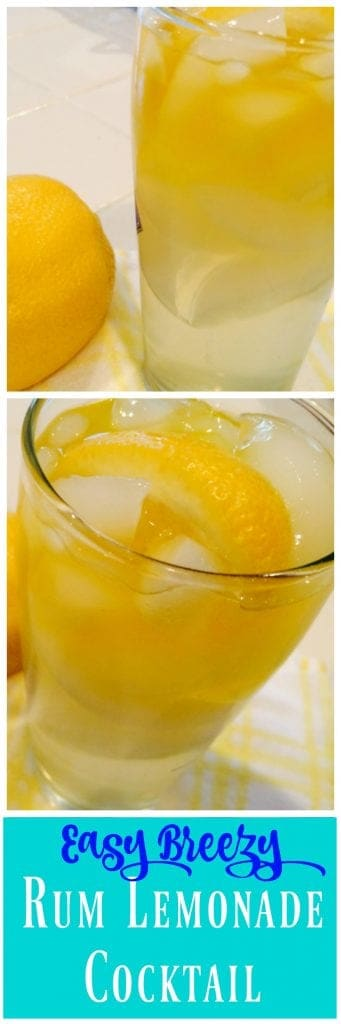 Rum Lemonade Cocktail Recipe