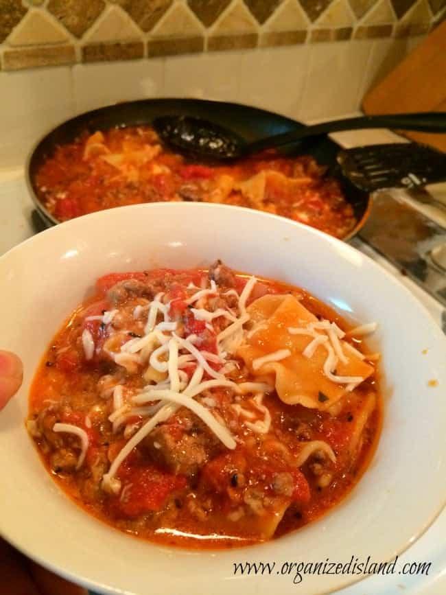 WEeknight Lasagna