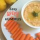 Looking for a spicy hummus recipe? This one has some Sriracha for a kick.