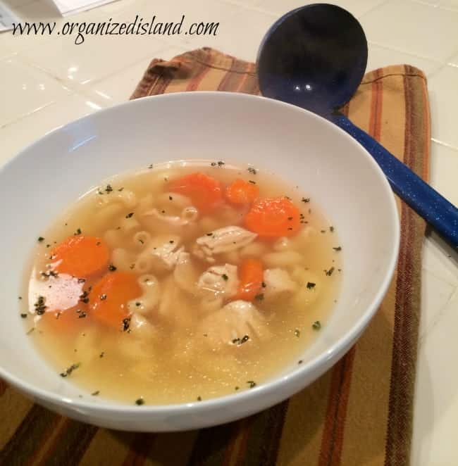 simple homemade chicken soup