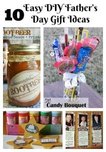Easy DIY Fatther's Day Gift Ideas for kids to make.