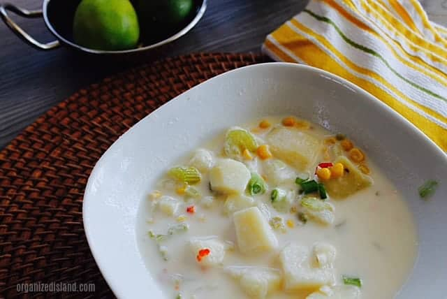 Easy Mexicorn Chowder recipe.