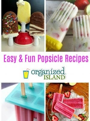 easy Popsicle recipes for summer.. Want an easy recipe to make your own summer treat? Check these out!
