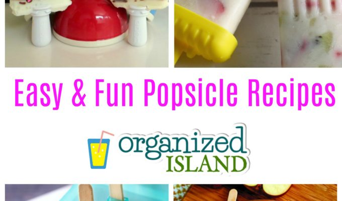 Popsicle Recipes for Summer