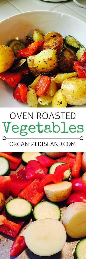 Your family will love these roasted vegetables. So easy to make and healthy too!