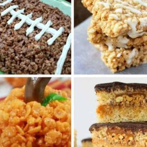 Rice crispy treat ideas for fall.