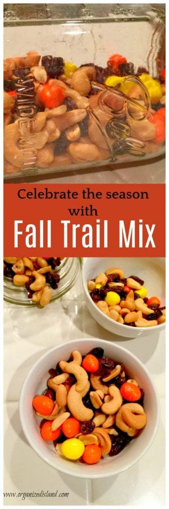 Celebrate the season with this fun and festive fall trail mix! So easy and quick!