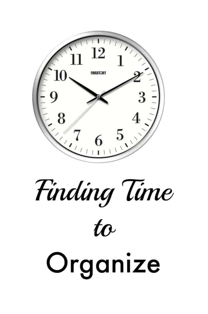 Finding-time-to-organize-home