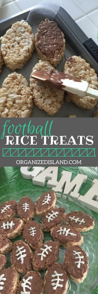 Need a quick tailgating recipe? These popular rice treats will go fast at your next football party!