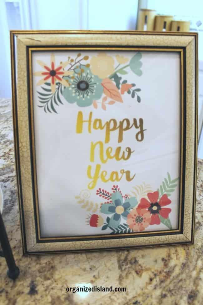Free Happy New Year Printable