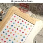How to Turn a Picture Frame Into a Tray