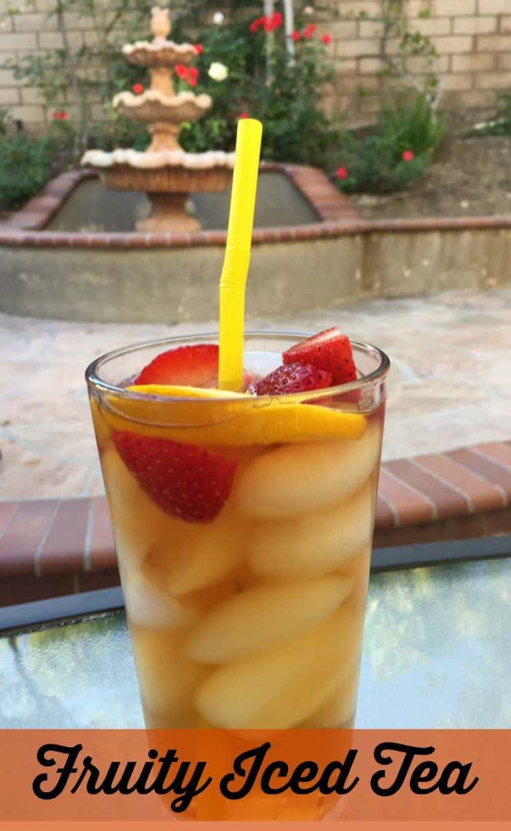 Delicious summer iced tea recipe