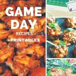 Awesome Game Day Appetizers Printables