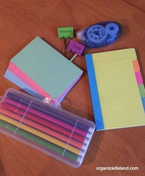 Get organized for back to school with these tips that worked for us!