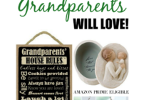 Need a gift idea for Grandparents? This site has a list of items you can make or purchase for that special loved one.