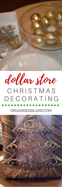 What to decorate with cheap dollar store items? check out these ideas.