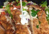 Golden Chicken Salad from The Habit.
