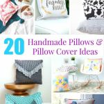 Handmade Pillows and Pillow Cover Ideas