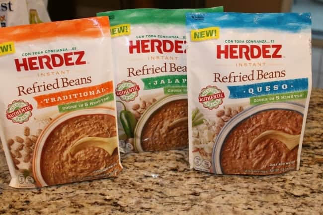 Have you tried Herdez Instant Beans yet? Check out this quick recipe.