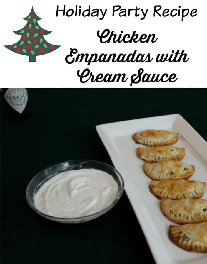 Holiday Party Recipe – Chicken Empanadas