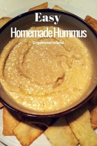Homemade Hummus is so easy to make in minutes! No need to buy from the market!