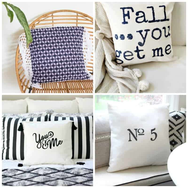 These handmade pillow ideas are all so cute and easy to make!