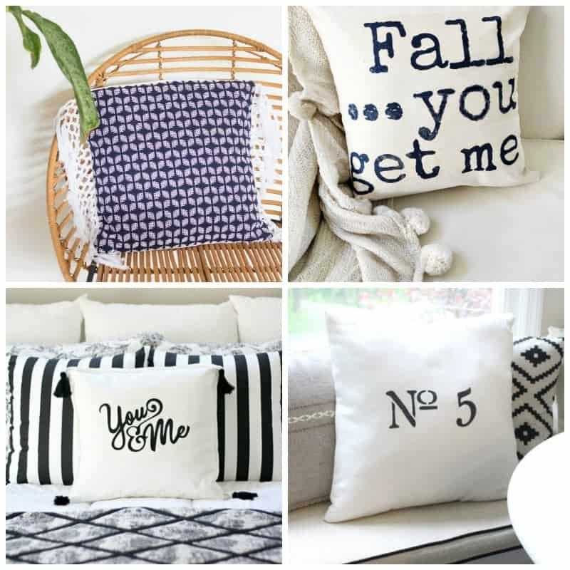Handmade Pillows and Pillow Cover Ideas -