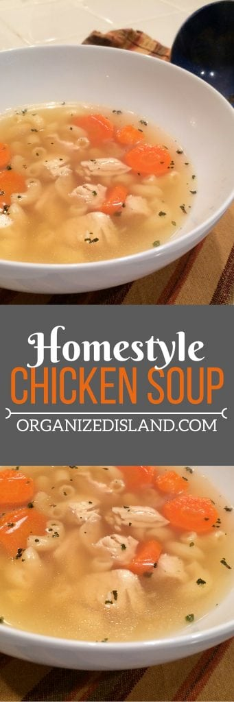 This chicken noodle soup recipe is full of flavor and is an easy chicken noodle soup to make for lunch or dinner. You can change up the type of noodle to your family's liking too!