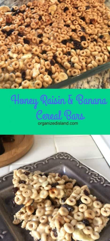 Making your own cereal bars is easy and it is good to know what you decide to put in them. Check out my easy recipe here.