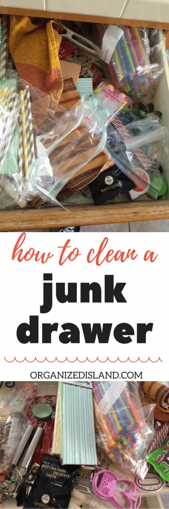 How to organize a junk drawer in just minutes.
