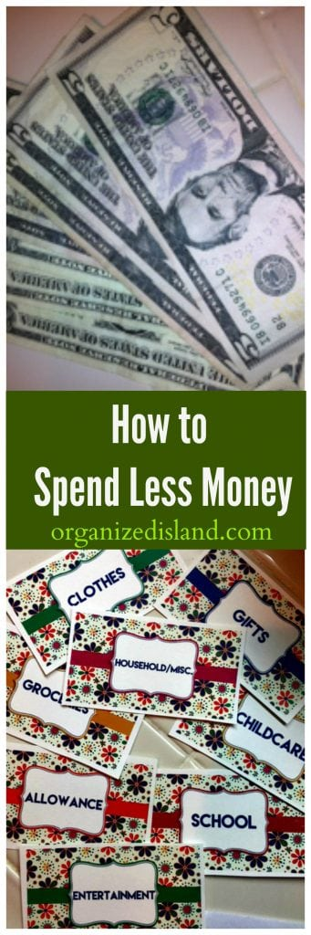 Personal tips on how to get on track to spend less money.