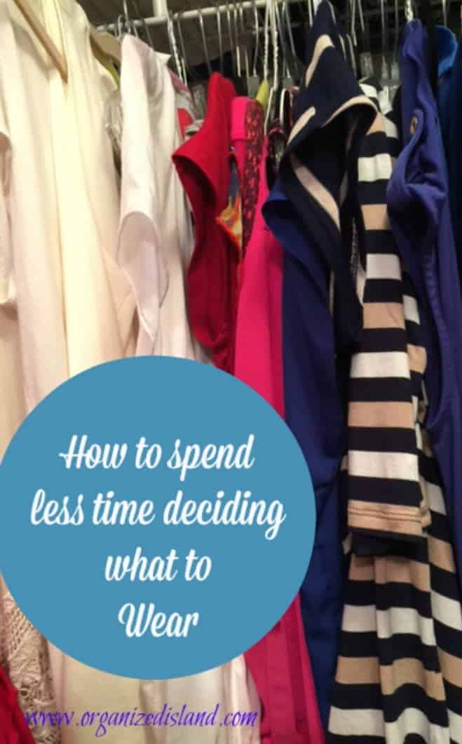 Tips To Save Time Getting Dressed