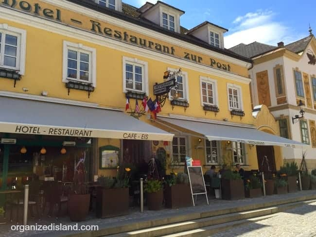 Looking for authentic Austrian food? Check out Hotel Restaurant zur Post in Melk Austria. Delicious!