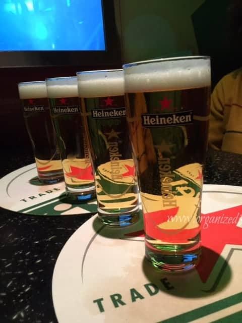 The Heineken Experience beer tasting amsterdam