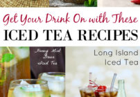 Tasty iced tea recipes - some are tart, some are sweet and some are fruity. Nice recipes to have on hand when you want a thirst-quenching iced tea!