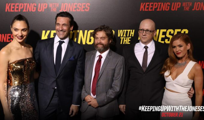 Keeping Up with the Joneses Movie
