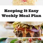 Weekly Meal Plan April