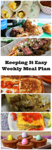 Tasty dinner ideas for spring and all are easy peasy!