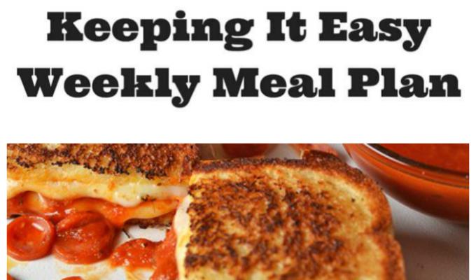 Weekly Meal Plan 11