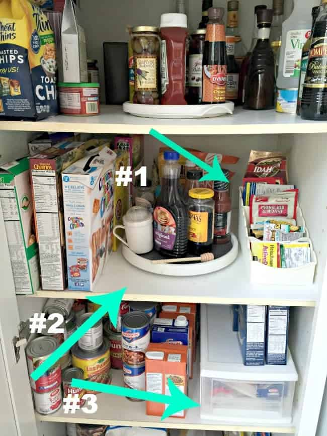 Kitchen storage tips and tips to keep your kitchen organized.