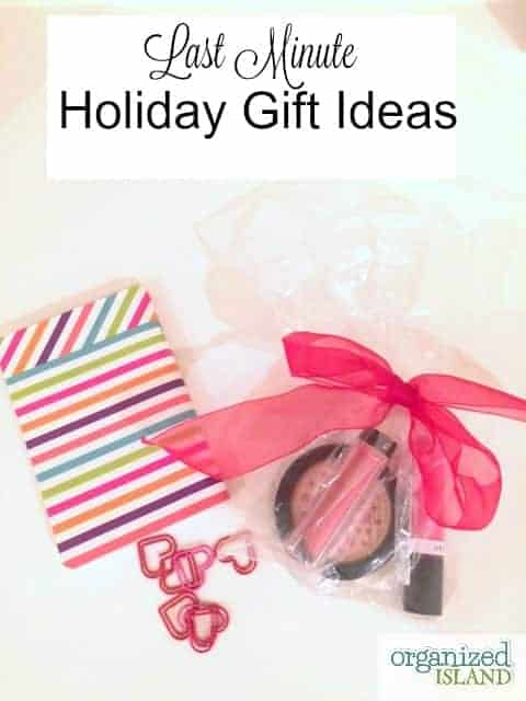 Last Minute Holiday Gift Ideas - most you can get at the market or drug store!