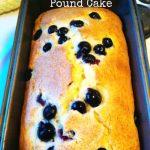 Lemon Blueberry Pound Cake - so easy to make for brunch, dessert or snack time!