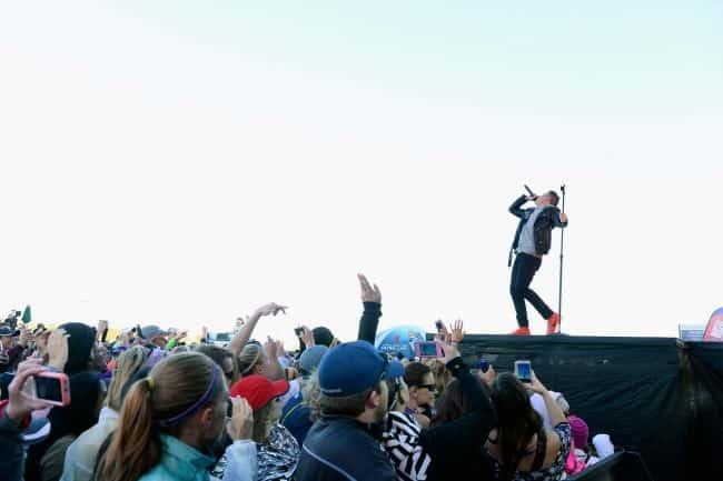 Macklemore performs in Las Vegas