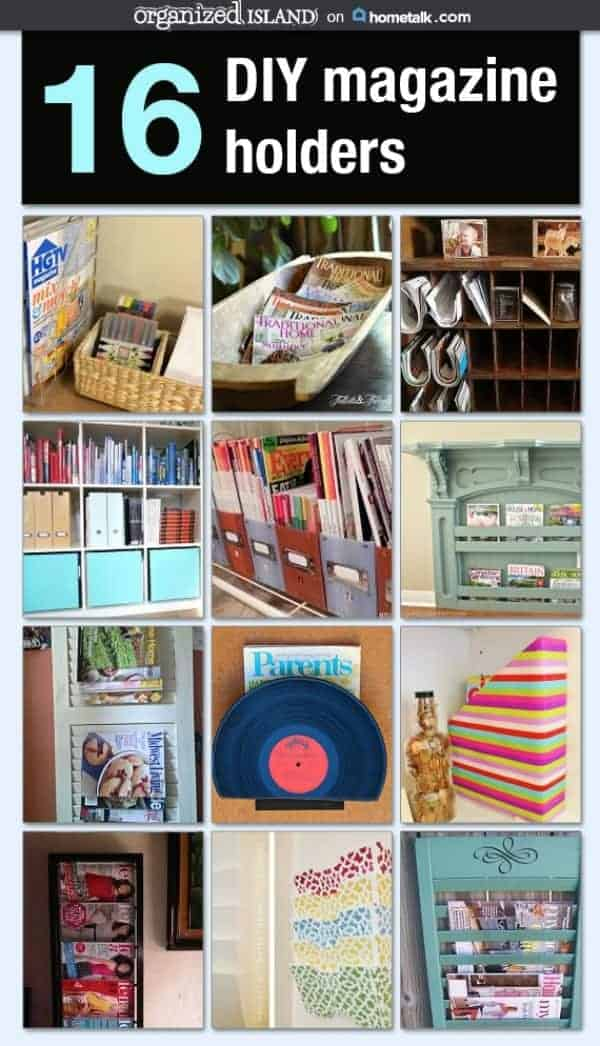 16 diy magazine holders magazine storage solutions holders you can make yourself solutioingenieria Image collections